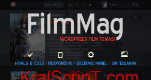 WordPress Filmmag Teması Ücretsiz